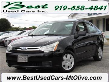 2008 Ford Focus for sale in Mount Olive, NC