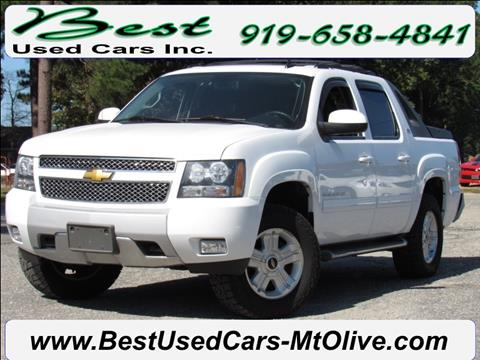 2012 Chevrolet Avalanche for sale in Mount Olive, NC
