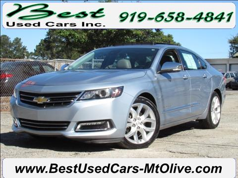 2014 Chevrolet Impala for sale in Mount Olive, NC