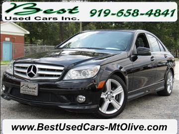 2010 Mercedes-Benz C-Class for sale in Mount Olive, NC