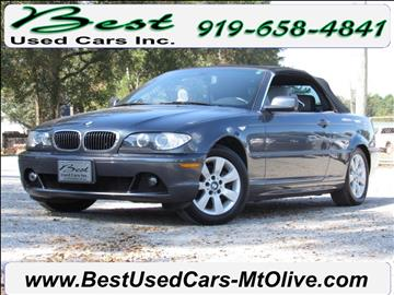 2006 BMW 3 Series for sale in Mount Olive, NC