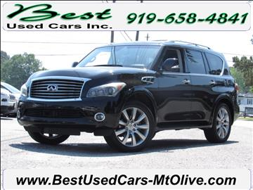 2012 Infiniti QX56 for sale in Mount Olive, NC