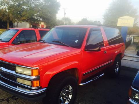 1992 Chevrolet Blazer for sale in Eufaula, AL