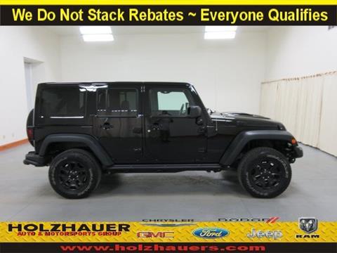 2013 Jeep Wrangler Unlimited for sale in Nashville, IL