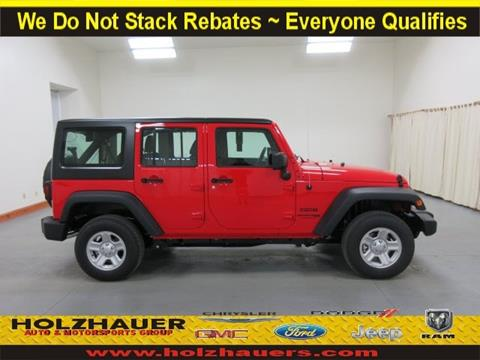 2018 Jeep Wrangler Unlimited for sale in Nashville, IL