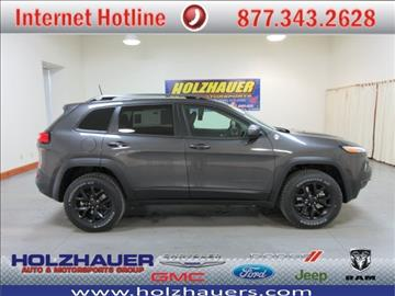 2017 Jeep Cherokee for sale in Nashville, IL