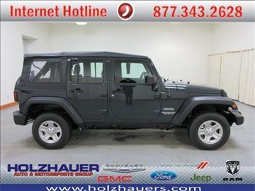 2017 Jeep Wrangler Unlimited for sale in Nashville, IL