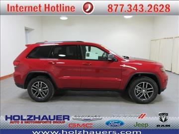 2017 Jeep Grand Cherokee for sale in Nashville, IL