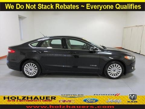 2015 Ford Fusion Hybrid for sale in Nashville, IL