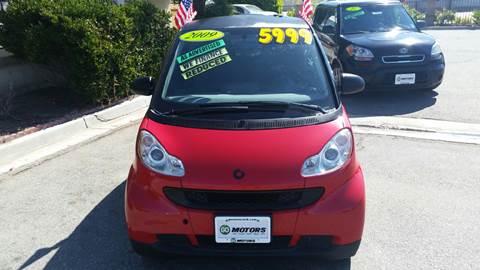 2009 Smart fortwo for sale in Hemet, CA