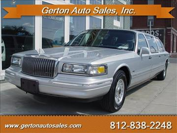 1997 Lincoln Town Car for sale in Mount Vernon, IN