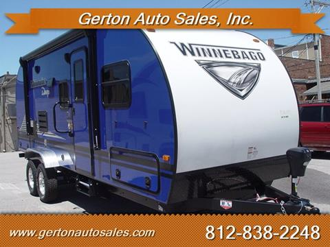 2020 Winnebago Minnie Drop 210RBS for sale in Mount Vernon, IN