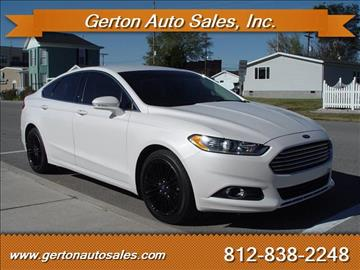 2013 Ford Fusion for sale in Mount Vernon, IN