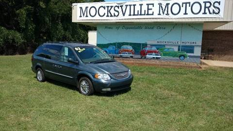 2002 Chrysler Town and Country for sale in Mocksville, NC