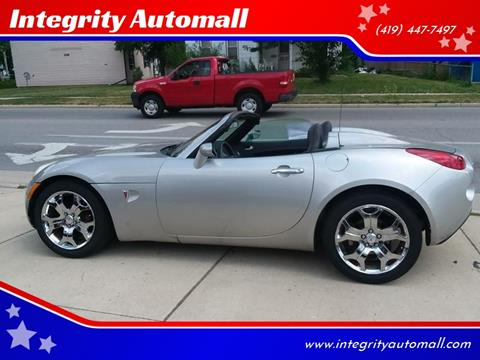 2006 Pontiac Solstice for sale in Tiffin, OH