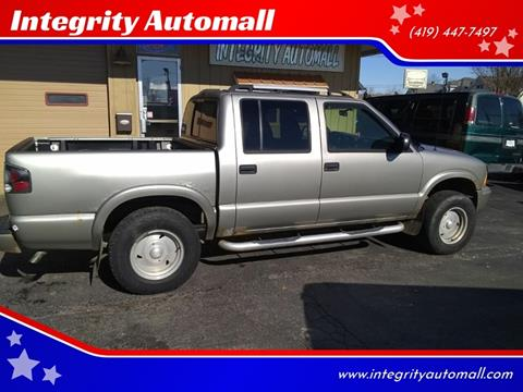 2003 GMC Sonoma for sale in Tiffin, OH