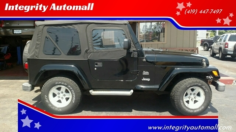 2004 Jeep Wrangler for sale in Tiffin, OH
