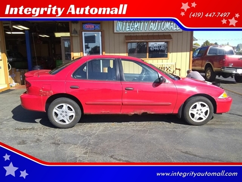 2002 Chevrolet Cavalier for sale in Tiffin, OH
