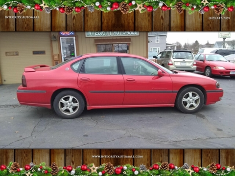 2003 Chevrolet Impala for sale in Tiffin, OH