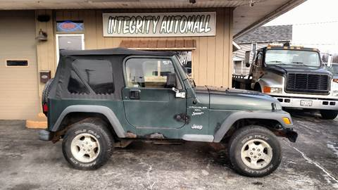 2001 Jeep Wrangler for sale in Tiffin, OH
