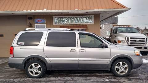 2006 Pontiac Montana SV6 for sale in Tiffin, OH