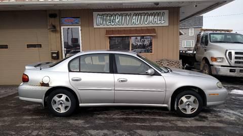2002 Chevrolet Malibu for sale in Tiffin, OH