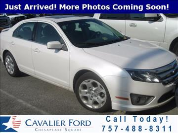 2010 Ford Fusion for sale in Chesapeake, VA