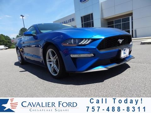 2018 Ford Mustang for sale in Chesapeake, VA