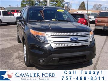 2013 Ford Explorer for sale in Chesapeake, VA