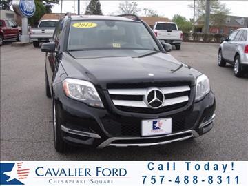 2013 Mercedes-Benz GLK for sale in Chesapeake, VA