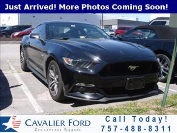 2016 Ford Mustang for sale in Chesapeake, VA