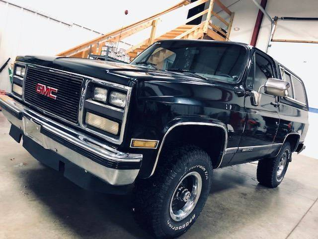 1990 Gmc Jimmy 2dr 4wd Suv In Edwardsville Ks All American Auto Mart