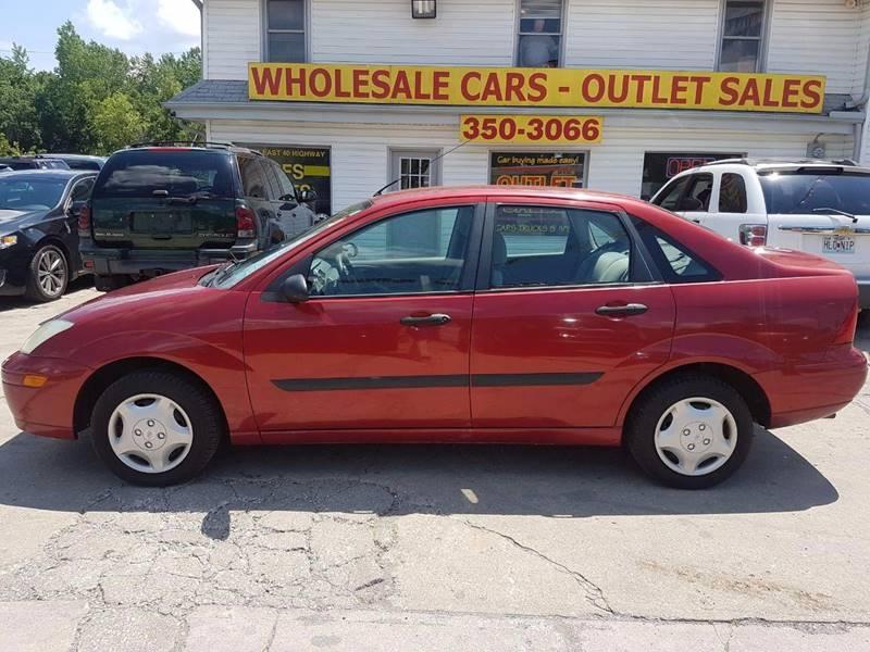 2001 Ford Focus LX 4dr Sedan - Kansas City MO
