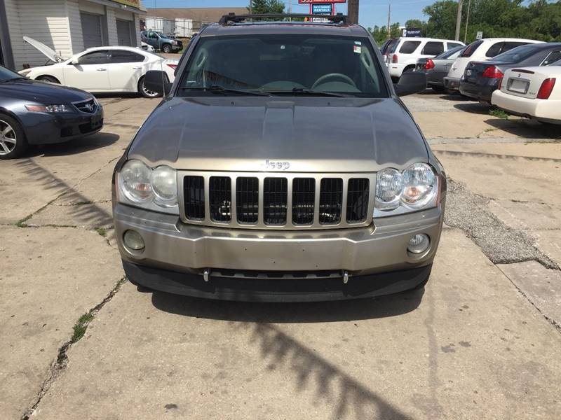 2006 Jeep Grand Cherokee Limited 4dr SUV 4WD w/ Front Side Airbags - Kansas City MO
