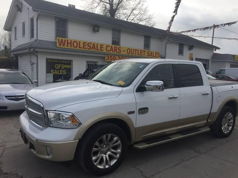2015 RAM Ram Pickup 1500 4x4 Laramie Longhorn 4dr Crew Cab 5.5 ft. SB Pickup - Kansas City MO