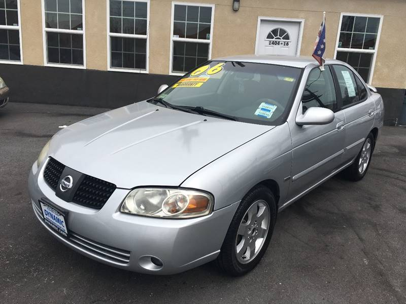 2006 Nissan Sentra 1.8 S In Baltimore MD - DYNAMIC CARS