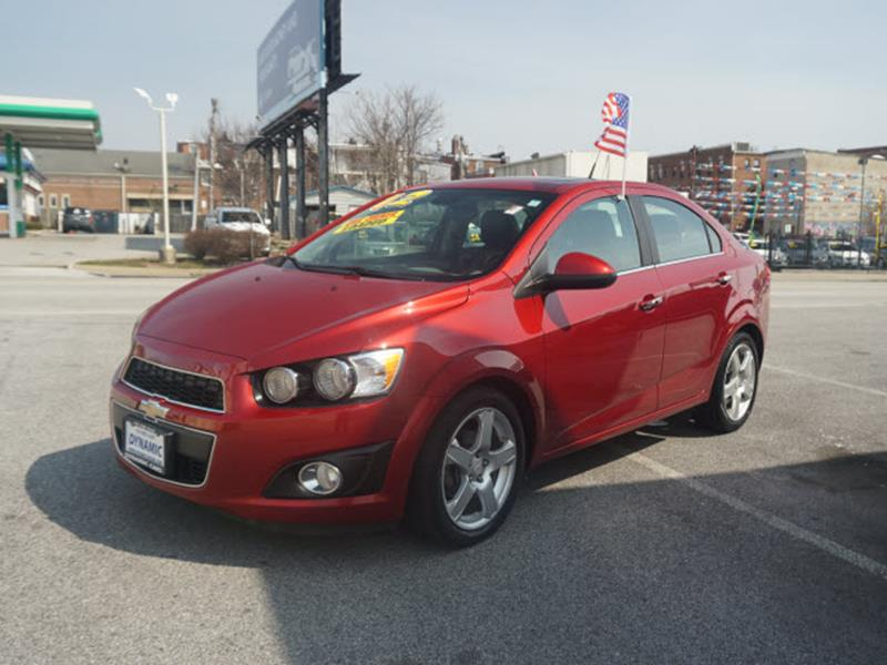 2012 Chevrolet Sonic Ltz In Baltimore Md Dynamic Cars