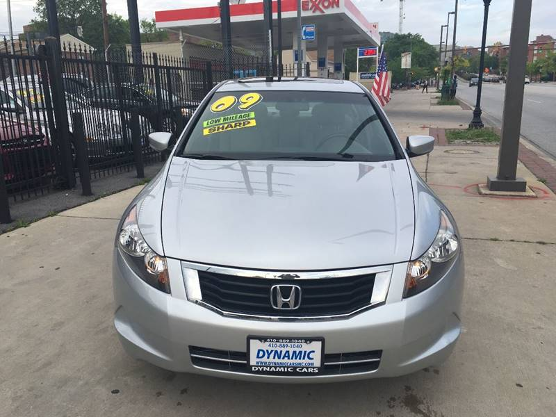 2009 Honda Accord For Sale At DYNAMIC CARS In Baltimore MD