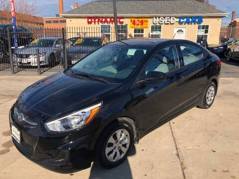 2017 Hyundai Accent for sale at DYNAMIC CARS in Baltimore MD