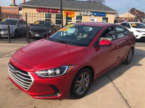 2017 Hyundai Elantra for sale at DYNAMIC CARS in Baltimore MD