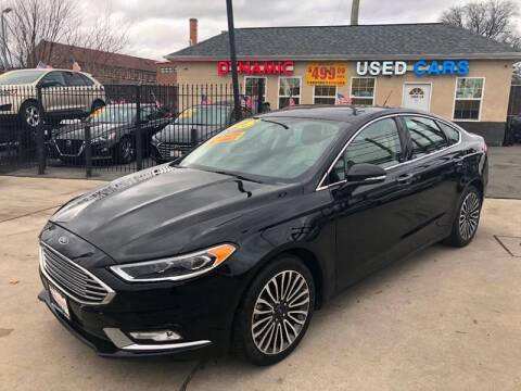 2018 Ford Fusion for sale at DYNAMIC CARS in Baltimore MD