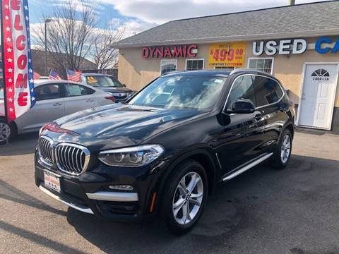 2019 BMW X3 for sale at DYNAMIC CARS in Baltimore MD