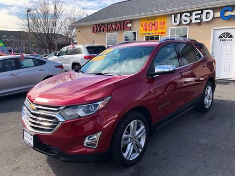 2019 Chevrolet Equinox for sale at DYNAMIC CARS in Baltimore MD
