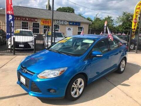 2014 Ford Focus for sale at DYNAMIC CARS in Baltimore MD