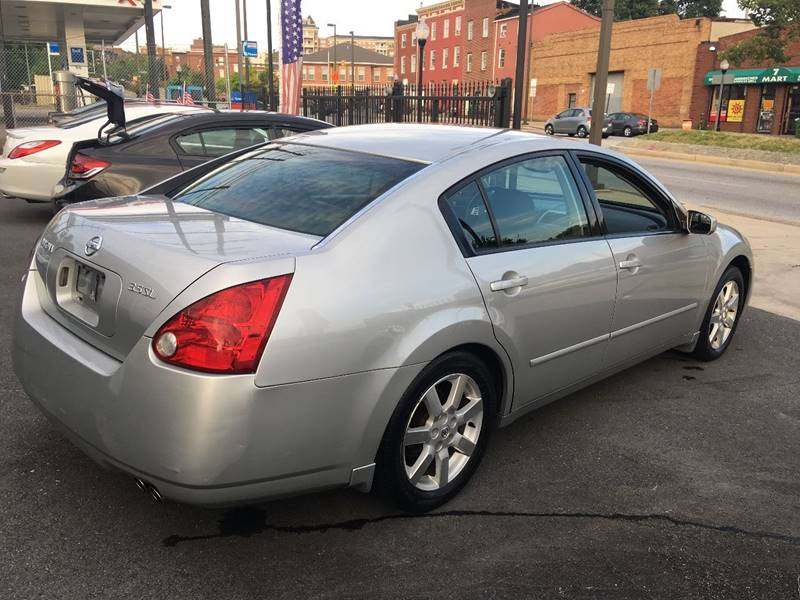 2004 nissan maxima 3 5 sl in baltimore md dynamic cars. Black Bedroom Furniture Sets. Home Design Ideas
