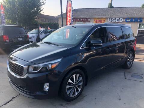 2015 Kia Sedona for sale at DYNAMIC CARS in Baltimore MD