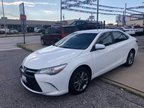 2015 Toyota Camry for sale at DYNAMIC CARS in Baltimore MD