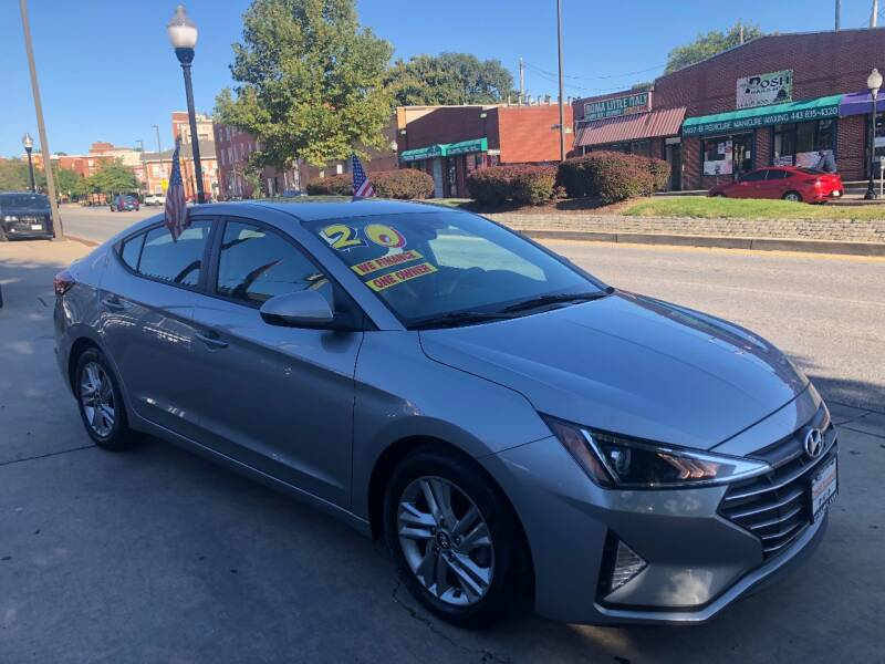 2020 Hyundai Elantra for sale at DYNAMIC CARS in Baltimore MD