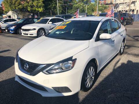 2019 Nissan Sentra for sale at DYNAMIC CARS in Baltimore MD