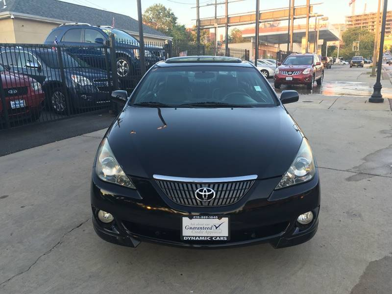 2005 Toyota Camry Solara For Sale At DYNAMIC CARS In Baltimore MD